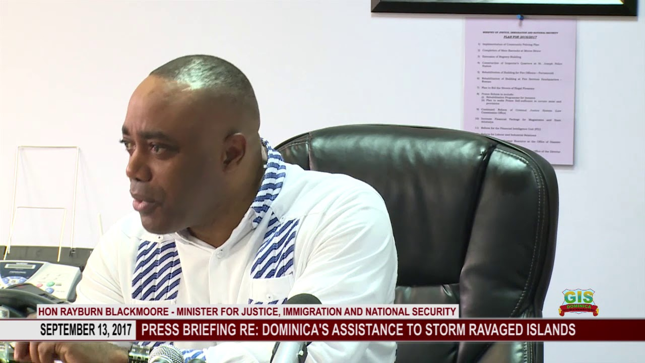 UPDATE ON DOMINICA'S ASSISTANCE TO STORM HIT COUNTRIES 0914 2017 3