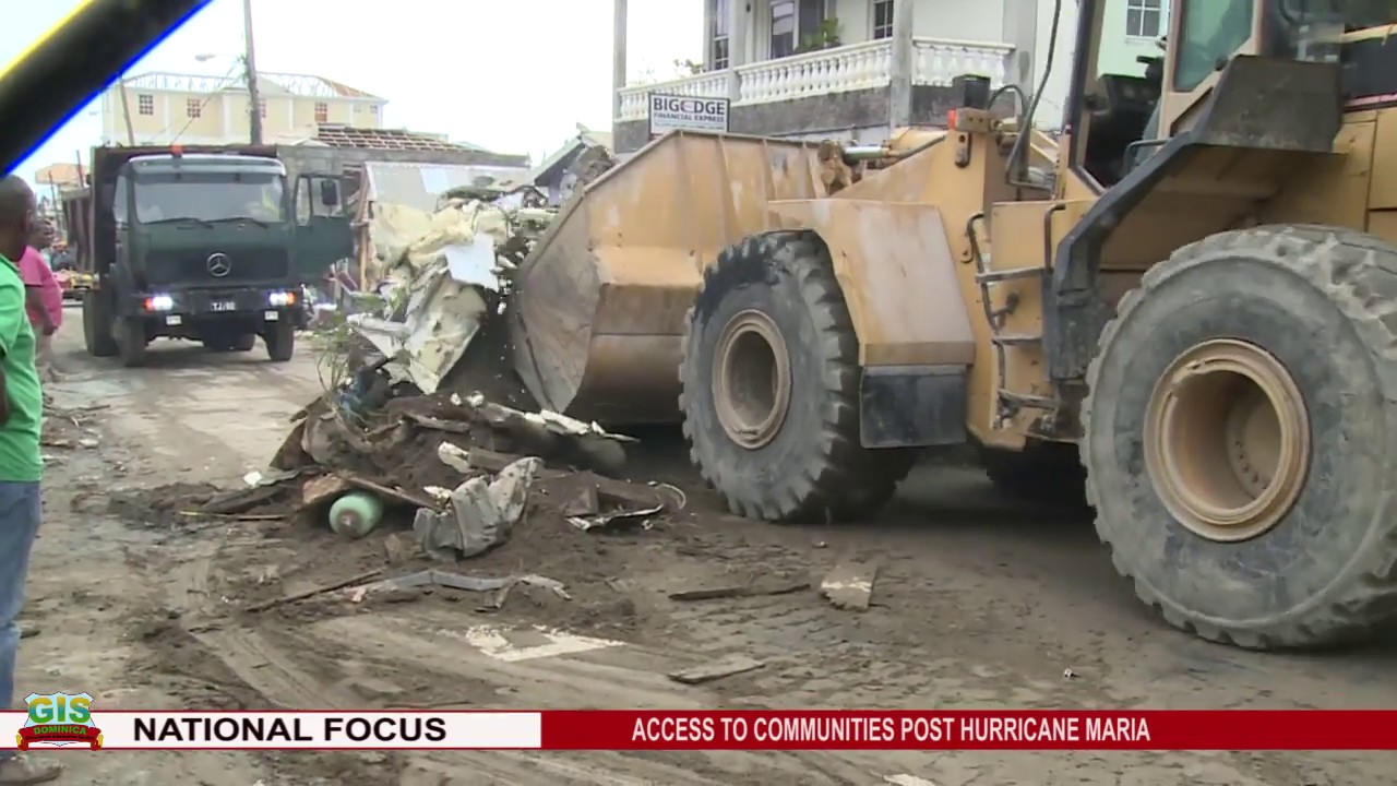GIS NEWS UPDATE ON CLEARING OF ROADS OF THE CAPITAL 1
