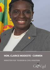 A message on World Tourism Day from Grenada's minister of tourism and civil aviation Dr. Clarice Modeste Curwen 6