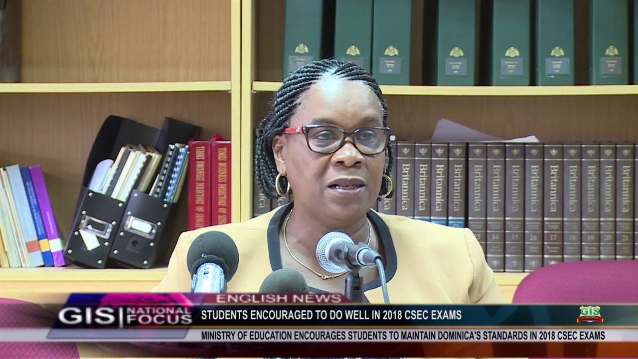 STUDENTS ENCOURAGED TO EXCEL IN 2018 CSEC EXAMS 4