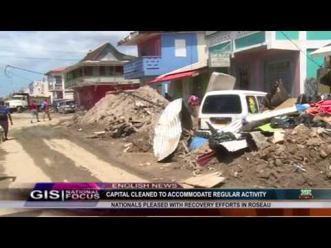 Prisca Julien Reports on the clean up of the capital city 6
