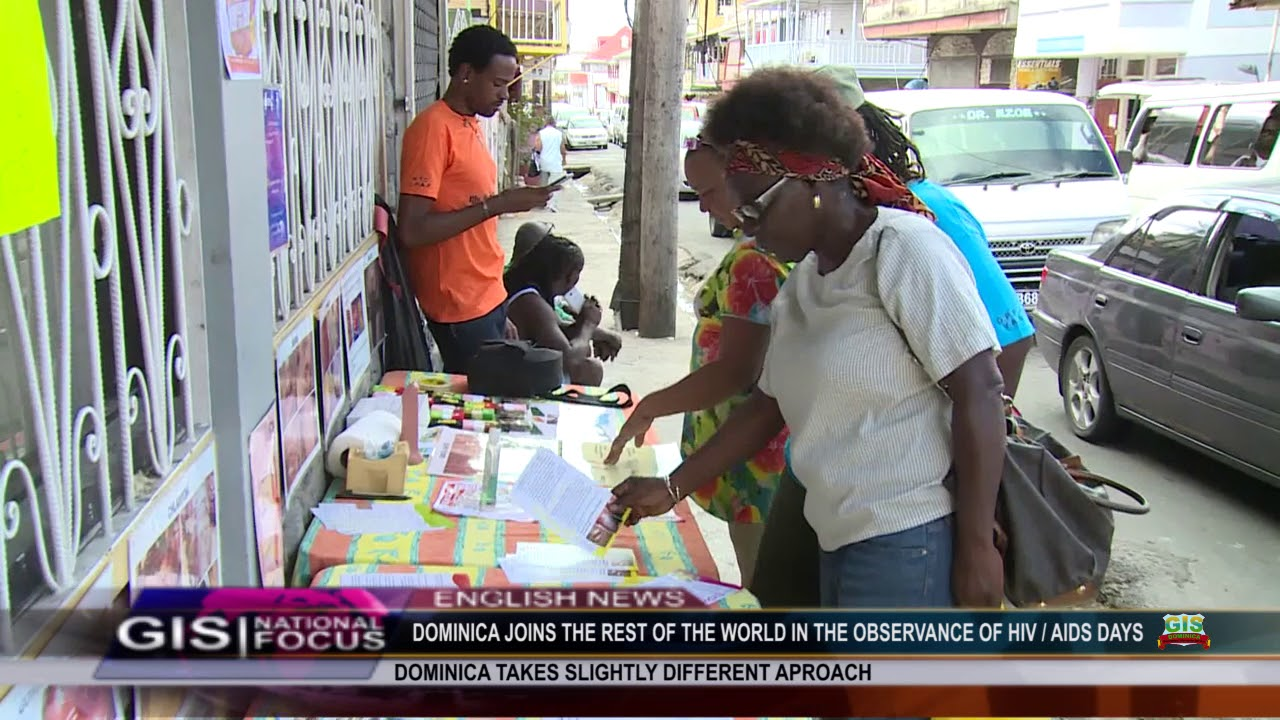 DOMINICA JOINS IN THE OBSERVANCE OF WORLD HIV/AIDS DAY 6