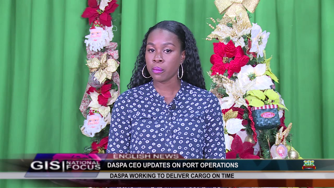 GIS NEWS UPDATE WITH SHAAKIRA PIERRE 2