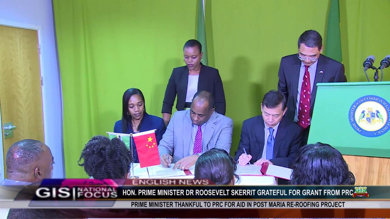 DOMINICA LEADER GRATEFUL TO PRC FOR GRANT 6