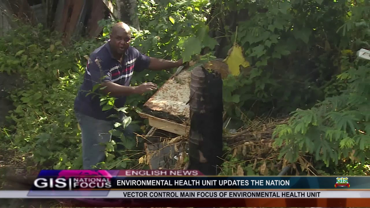 VECTOR CONTROL IS THE MAIN FOCUS OF THE ENVIRONMENTAL HEALTH UNIT 8