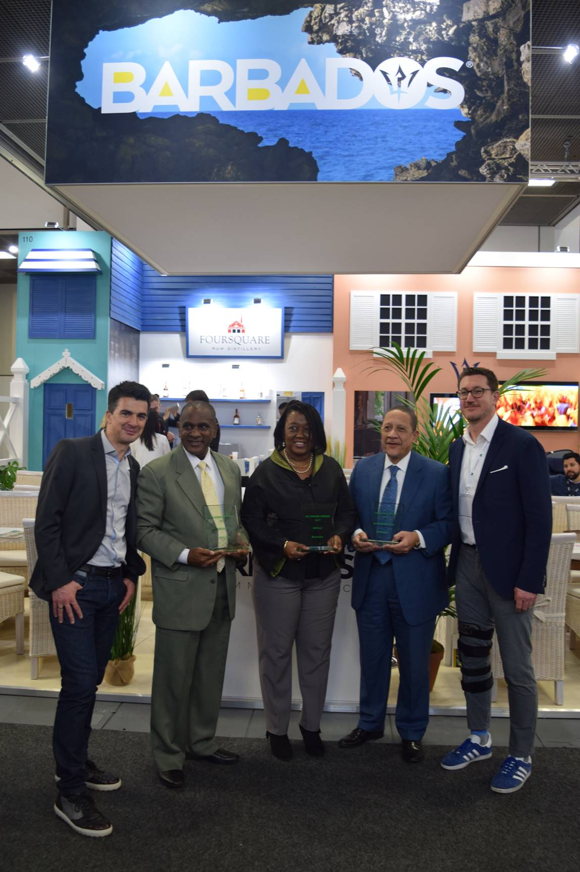 Barbados #1 in the world for visitor satisfaction 9
