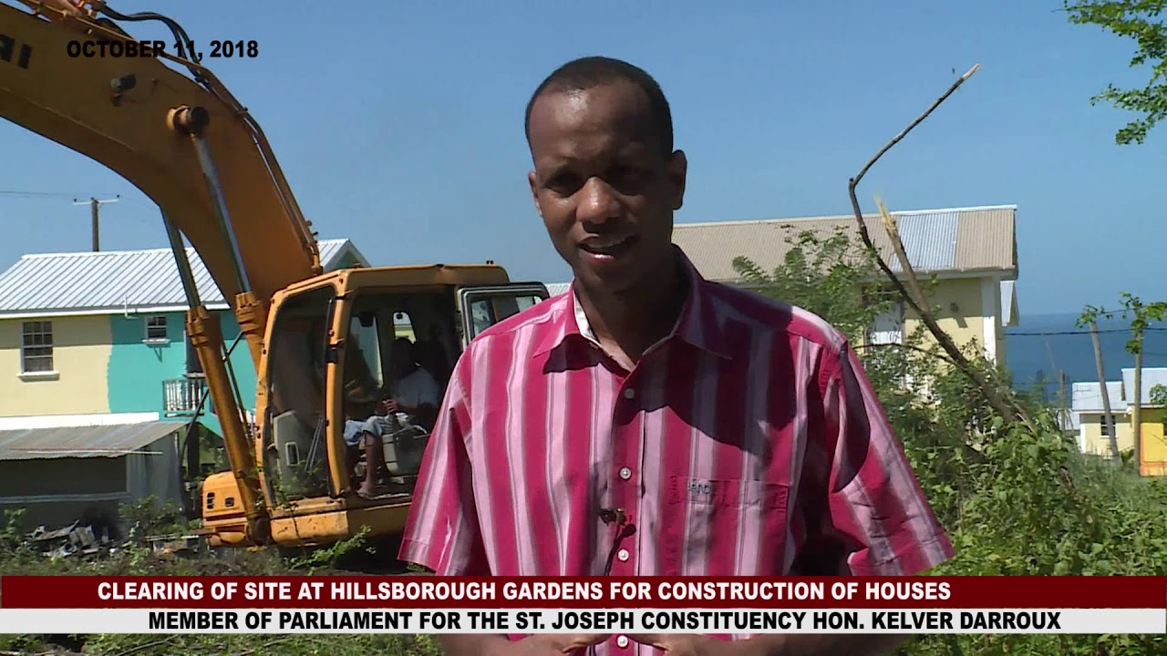 PREPARATION UNDERWAY FOR THE CONSTRUCTION OF TWENTY HOMES IN HILLSBOROUGH GARDENS 7
