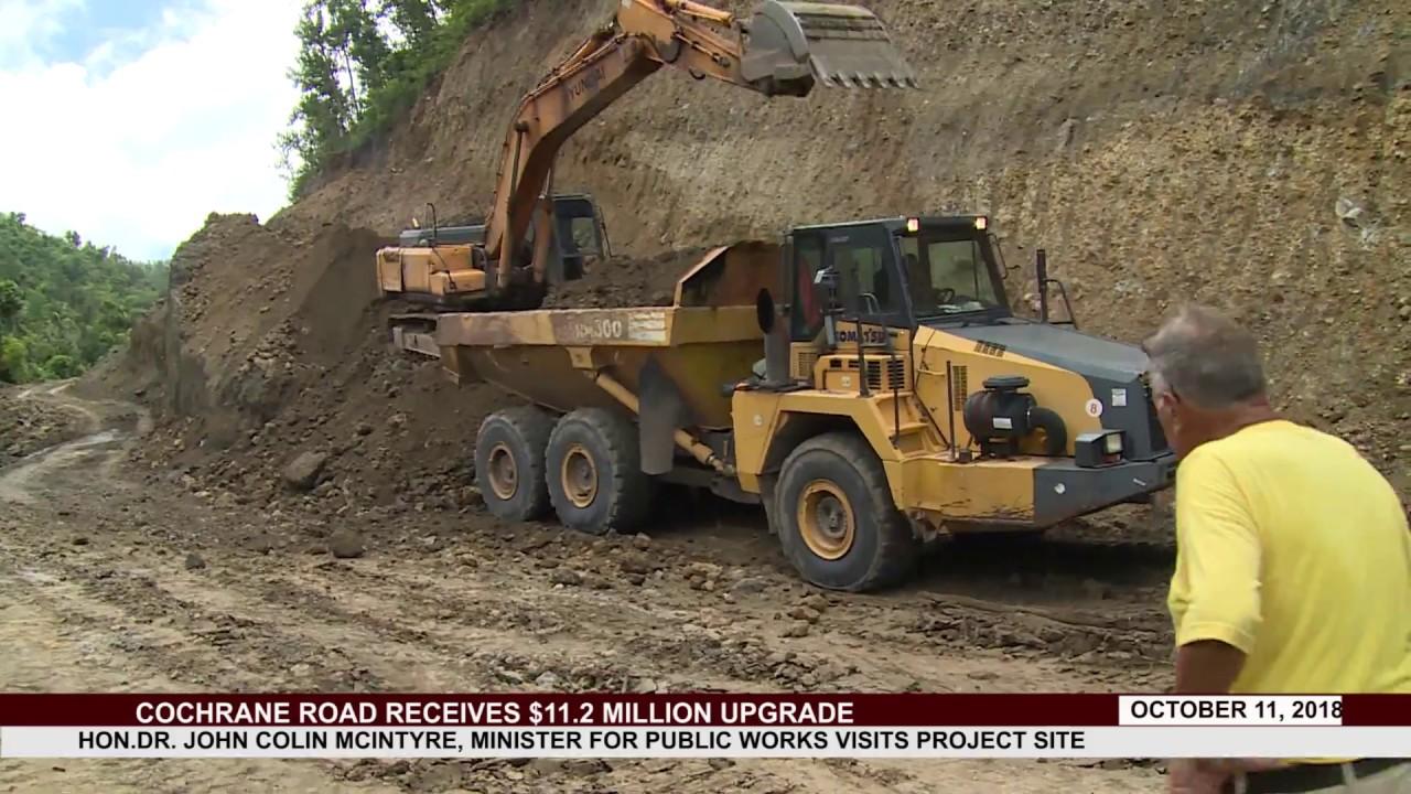 COCHRANE ROAD RECEIVES $11.2 MILLION UPGRADE 6