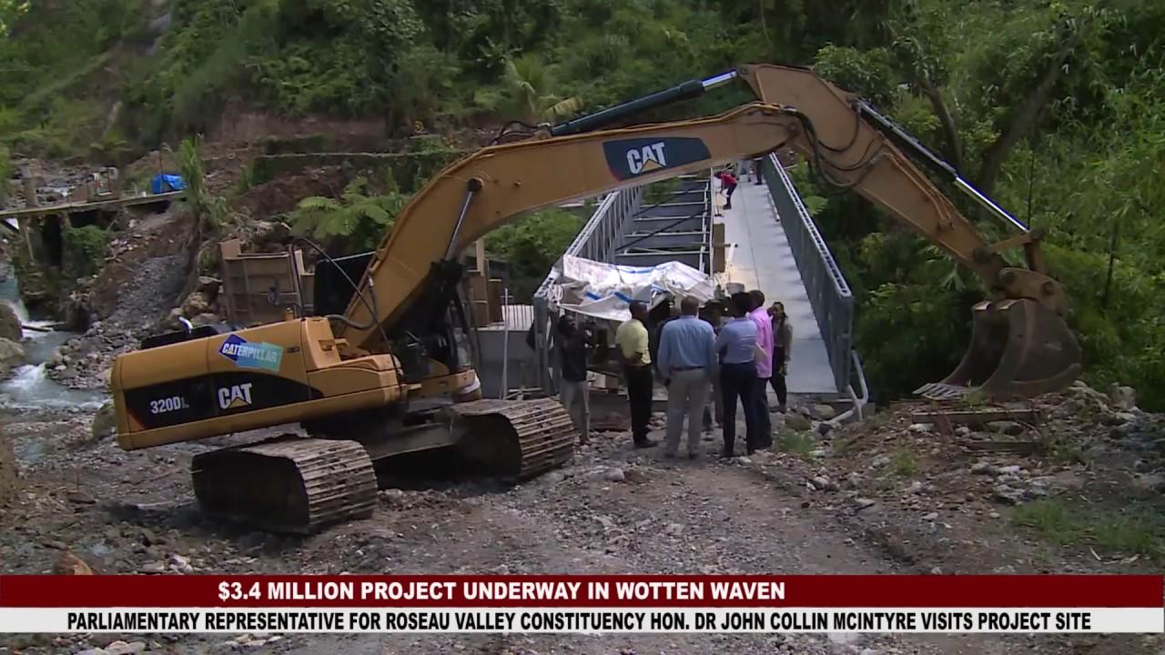 $3.4 MILLION BRIDGE PROJECT UNDERWAY IN WOTTEN WAVEN 2