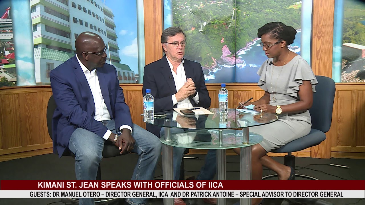 KIMANI ST  JEAN SPEAKS WITH OFFICIALS OF IICA PART 1 1
