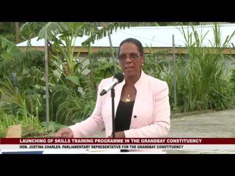 Launch of Skills Training Programme in Tete Morne 1