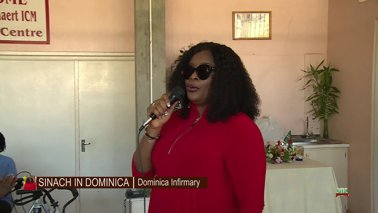 SINACH Visits the Dominica Infirmary 9