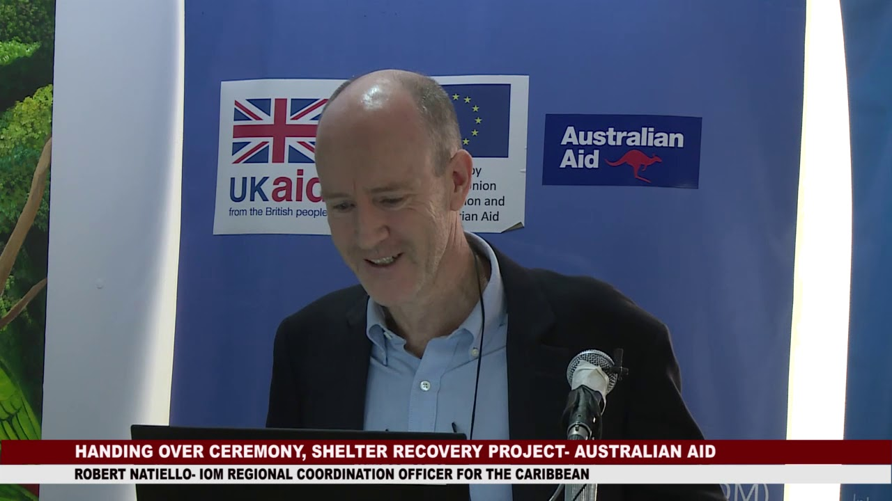 HANDING OVER CEREMONY OF AUSTRALIA AID FUNDED SHELTER RECOVERY PROJECT 5