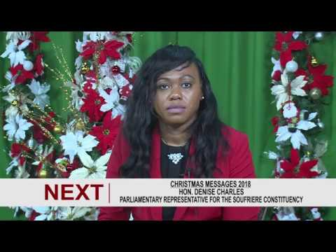 Christmas Message by Hon. Denise Charles 2