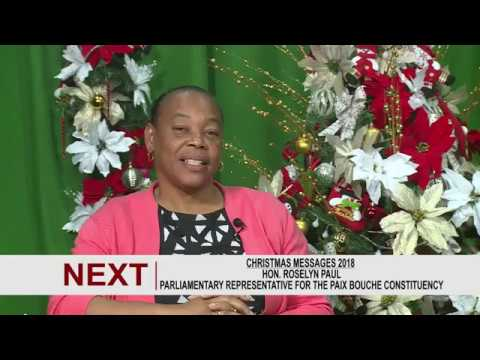 Christmas Message from Hon. Roselyn Paul 3