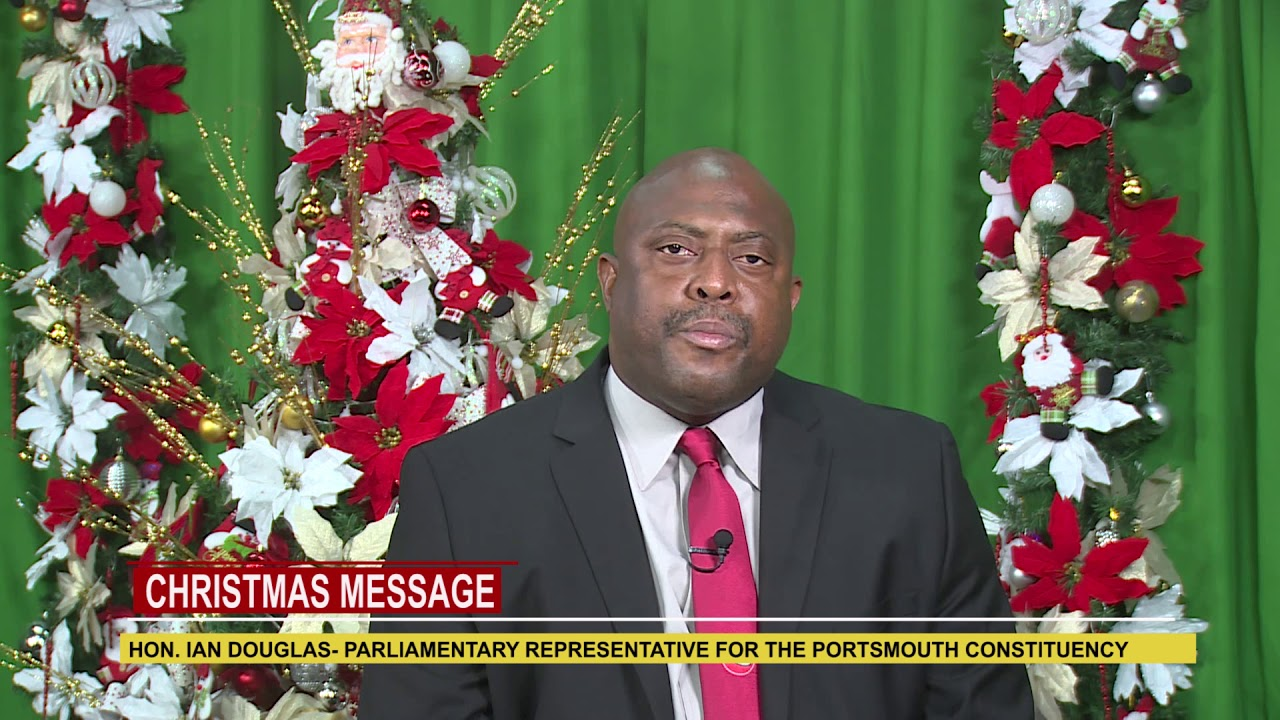 2018 Christmas Message from Hon. Ian Douglas 2