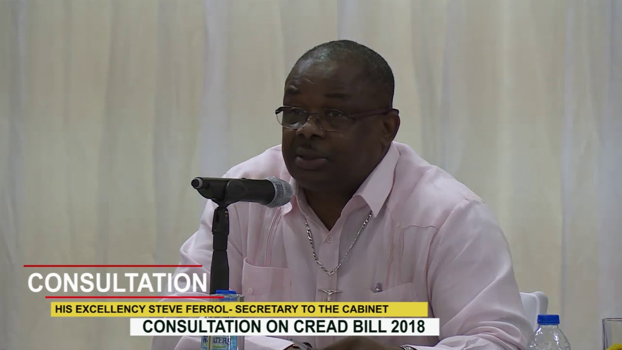 CONSULTATION ON CREAD BILL 2018 3