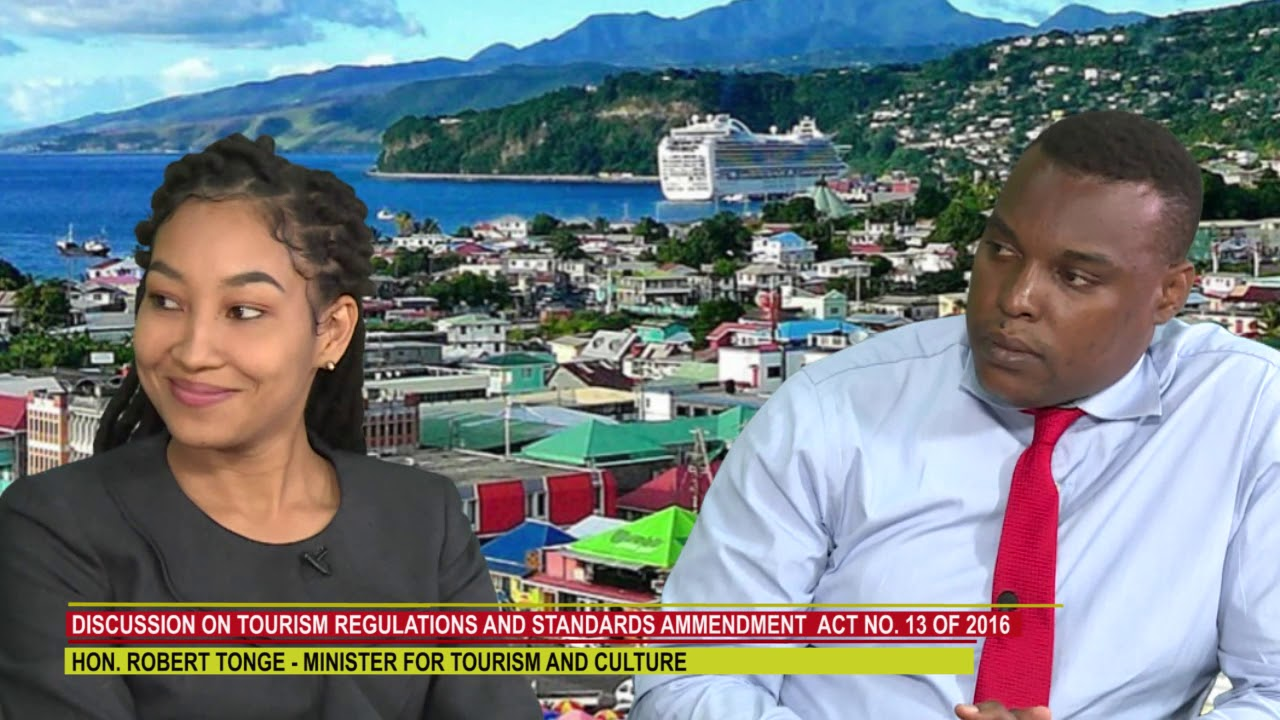 DISCUSSION ON DOMINICA'S TOURISM REGULATIONS AND STANDARDS 3