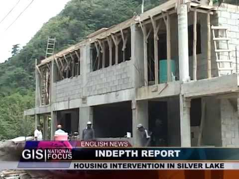 GIS Dominica: IN DEPTH REPORT -  Silver Lake Housing Intervention 13