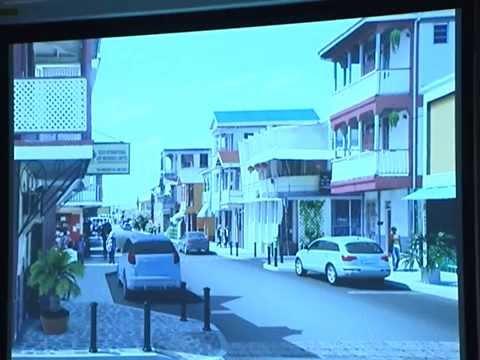 GIS Dominica, Conceptual Design for Transformation of Roseau 5