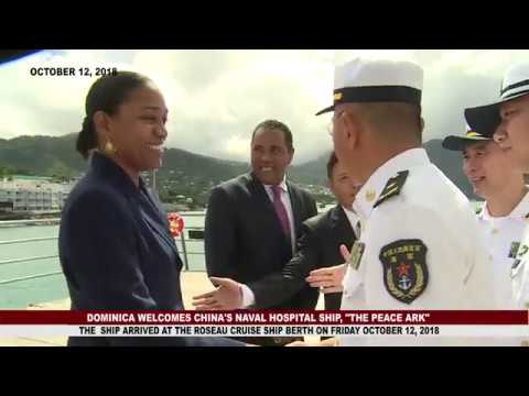 DOMINICA WELCOMES CHINA'S NAVY MEDICAL HOSPITAL 2