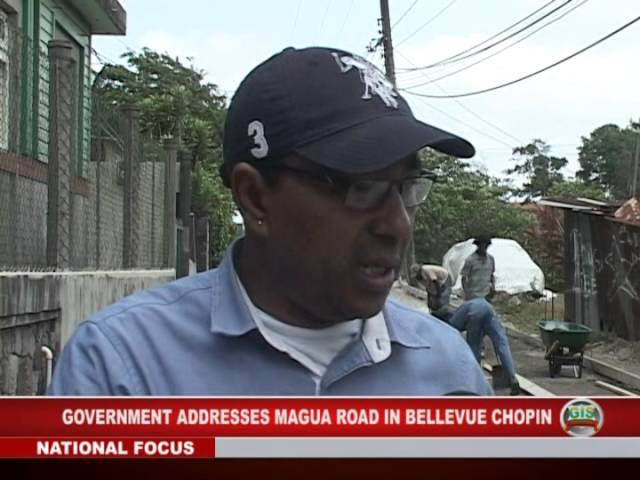 Magua Road Gets Attention 2