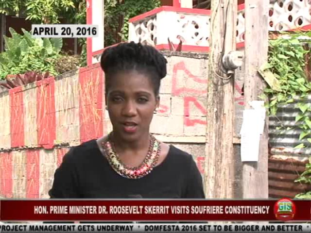 GIS Dominica Special Report: PM Skerrit Visits Soufriere Constituency 7
