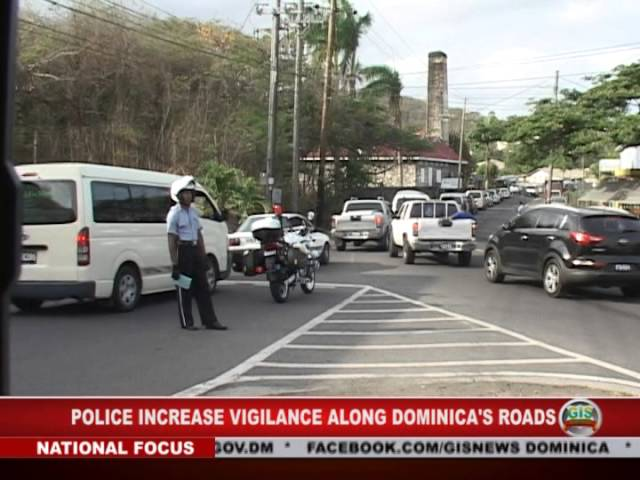 GIS Dominica: Local Police More Vigilant About Road Safety 2