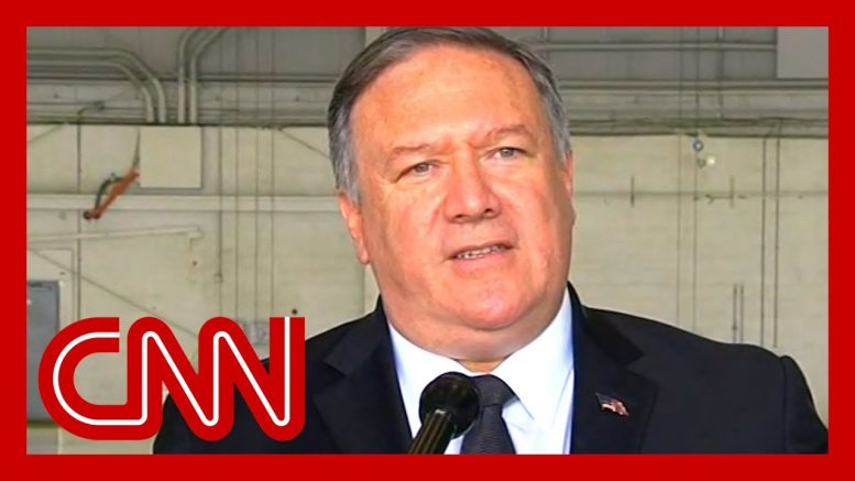 Pompeo: Trump doesn't want war with Iran 1