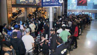 Fans spend night in line for Raptors OVO gear in Toronto 6