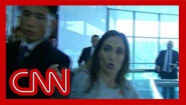 Stephanie Grisham injured by North Korean officials 10