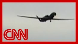 Video shows Iran shooting down US drone 7