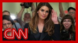 Hope Hicks' House committee testimony revealed 2