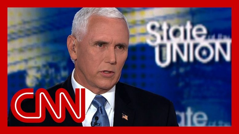 Pence says Trump moving forward with Iran sanctions 1