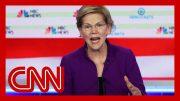 Hear Elizabeth Warren's response to question about debating Bernie Sanders 4