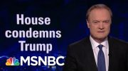 Just 4 Republicans Stand Up To Trump, Condemn Racist Tweets | The Last Word | MSNBC 3