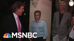 Newly-Found Footage Shows Donald Trump, Jeffrey Epstein At A '92 Party   Morning Joe   MSNBC 4