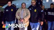 El Chapo Sentenced To Life, Addresses Court About Confinement Conditions | Hallie Jackson | MSNBC 3