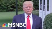 President Donald Trump: 'I'm Not Relishing The Fight' | MTP Daily | MSNBC 4