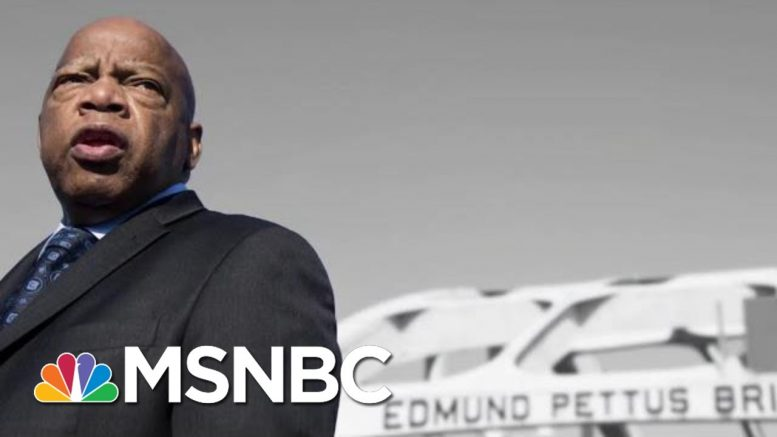 Rep. John Lewis: Trump Is Sowing The Seeds Of Racism In America | The 11th Hour | MSNBC 1