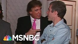 1992 Tape Of Trump And Epstein - The Day That Was   MSNBC 2