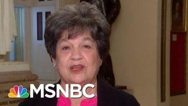 Representative Lois Frankel On Jeffrey Epstein, Trump's Racist Rhetoric   Velshi & Ruhle   MSNBC 6