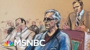 Flight Risk, Danger To Community Cited By Judge For Epstein Bail Denial | Craig Melvin | MSNBC 5