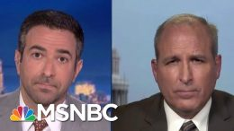 Trump Official Won't Rebuke Go Back Remark Violating DHS Policy | The Beat With Ari Melber | MSNBC 6