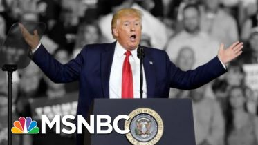 Trump Says He Tried To Stop 'Send Her Back!' Chant Aimed At Omar. He Didn't. | The 11th Hour | MSNBC 1