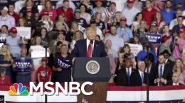 Donald Trump Tries To Distance Himself From 'Send Her Back' Chants | Velshi & Ruhle | MSNBC 9