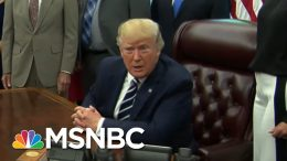 President Donald Trump Backtracks On Race-Baiting MAGA Chant | The Beat With Ari Melber | MSNBC 5