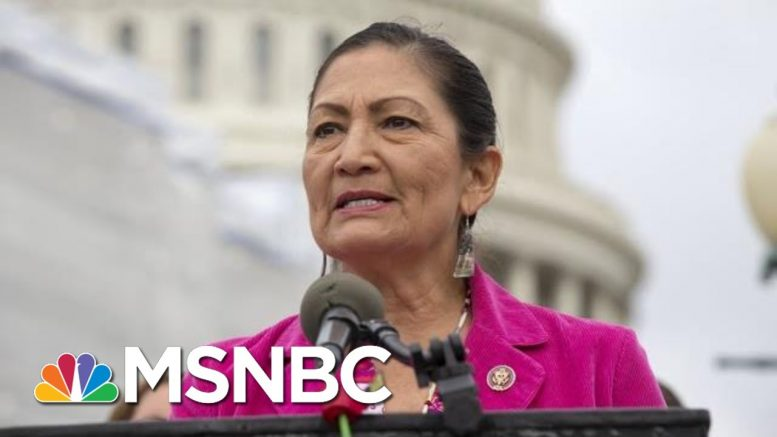 Haaland: As A Native American, I'd Never Tell Anyone To Leave This Country | The 11th Hour | MSNBC 1