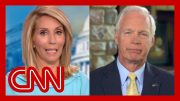 Dana Bash presses Sen. Ron Johnson to disavow President Trump's attacks on Dems 3