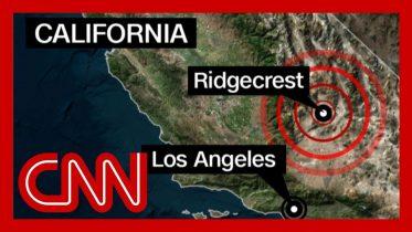 6.4 magnitude California earthquake shakes Los Angeles 2